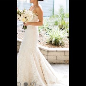 """c7ccb688f Hayley Paige Dresses - Hayley Paige """"Cricket"""" lace trumpet wedding gown"""